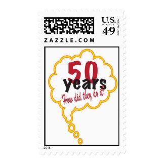 aniversario de 50 años cómo lo hizo lo hacen sello