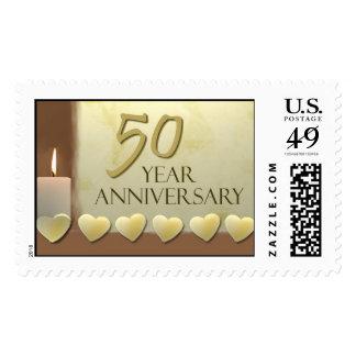 Aniversario de 50 años sello