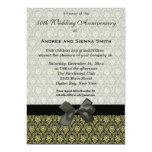 Aniversario de boda del damasco 50.o comunicado
