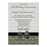 Aniversario de boda del damasco 50.o comunicados personales