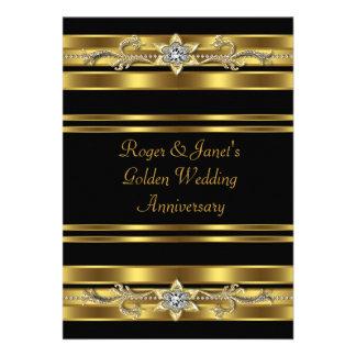 Aniversario de boda elegante de los diamantes del comunicado