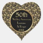 Aniversario de boda floral de la elegancia 50.a de