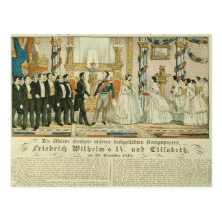 Aniversario de Frederick Guillermo IV y el suyo Tarjetas Postales