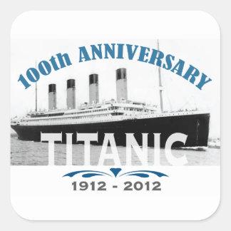 Aniversario de hundimiento titánico de 100 años colcomania cuadrada