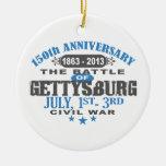 Aniversario de la batalla 150 de Gettysburg Ornamento De Navidad