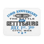Aniversario de la batalla 150 de Gettysburg Iman Flexible