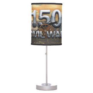Aniversario de la guerra civil de ABH 150o Lámpara De Mesa