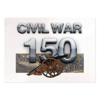 Aniversario de la guerra civil de ABH 150o Tarjetas De Visita Grandes