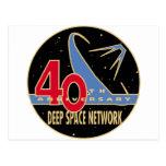 Aniversario de la RED 40.a del ESPACIO PROFUNDO Postal