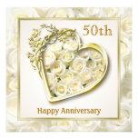 Aniversario de los rosas blancos y de boda del cor