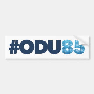 Aniversario de ODU 85o Pegatina Para Auto