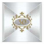 Aniversario del cumpleaños de la plata del oro de comunicados