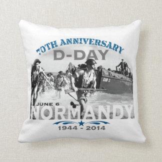 Aniversario del día D de Normandía 70.a Cojín