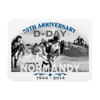 Aniversario del día D de Normandía 70.a Imanes Flexibles