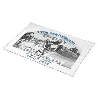 Aniversario del día D de Normandía 70.a Manteles
