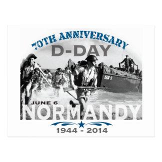 Aniversario del día D de Normandía 70.a Tarjetas Postales