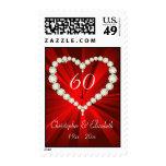 Aniversario del diamante 60.o del corazón del amor