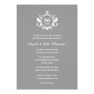 Aniversario del encanto o invitación floral del