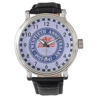 Aniversario expreso de aire vigésimo relojes de pulsera