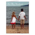 Aniversario feliz a mi marido - amor de mi vida tarjeta