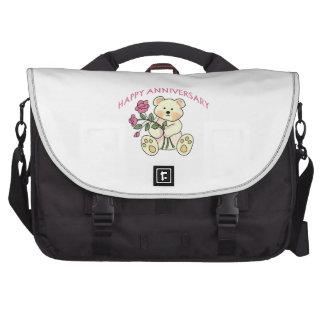 Aniversario feliz bolsas para portatil