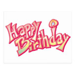 Aniversario feliz del feliz cumpleaños postales