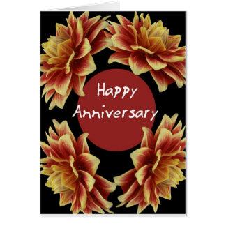 Aniversario feliz felicitación