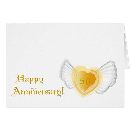 Aniversario feliz - personalizar tarjeta de felicitación