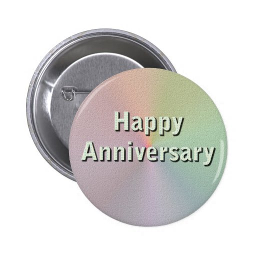 Aniversario feliz pin