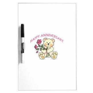 Aniversario feliz pizarra