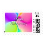 Aniversario feliz sello