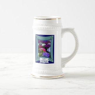 Aniversario, hydrangias exóticos tazas