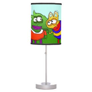 aniversario lámpara de escritorio