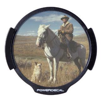 Aniversario occidental del personalizado del sticker LED para ventana