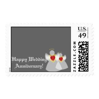 Aniversario-Personalizar de plata feliz Sello