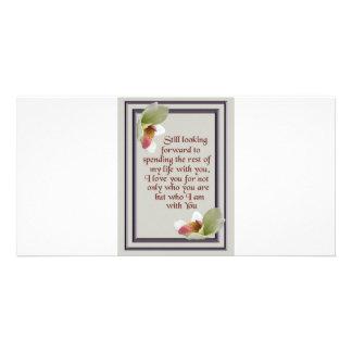 aniversario tarjeta con foto personalizada