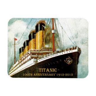 Aniversario titánico del RMS 100o Imanes Flexibles