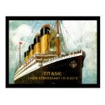Aniversario titánico del RMS 100o Postal