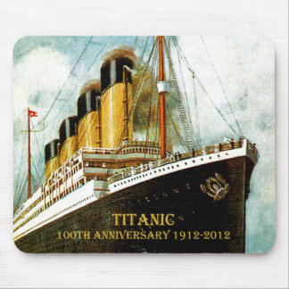 Aniversario titánico del RMS 100o Alfombrillas De Ratones