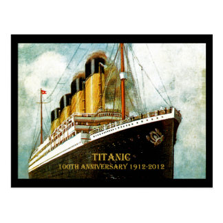 Aniversario titánico del RMS 100o Tarjeta Postal