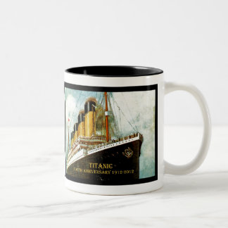 Aniversario titánico del RMS 100o Tazas