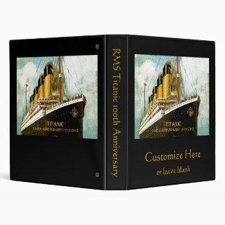 "Aniversario titánico del RMS Carpeta 1"""