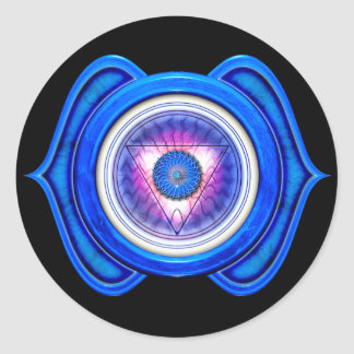 Anja or Third Eye the 6th Chakra Stickers