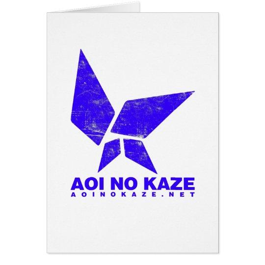 ANK Grunge Bright Blue Card
