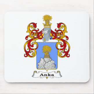 Anka Family Hungarian Coat of Arms Mouse Pad