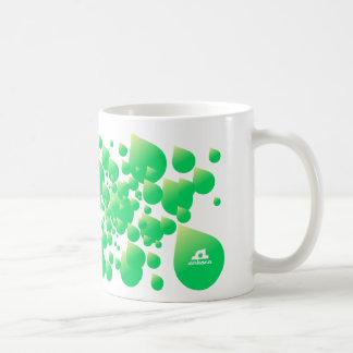 Ankara Rain Classic White Coffee Mug