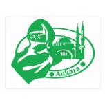 Ankara Stamp Postcards