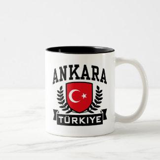 Ankara Two-Tone Coffee Mug