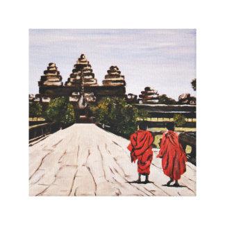 Anker Wat, Cambodia Canvas Print