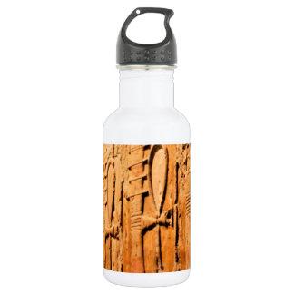 Ankh carvings.jpg water bottle